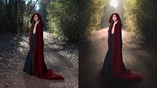 Speed Edit (Red Riding Hood) | Kelsey Freeman Photography