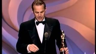 Kevin Costner Wins Best Directing 1991 Oscars