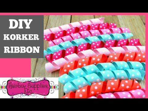 Korker Ribbon Tutorial - DIY Korkers - Hairbow Supplies, Etc.