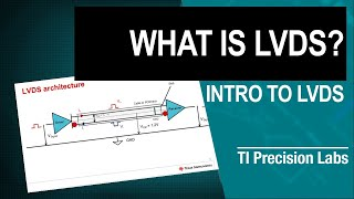 TI Precision Labs – LVDS: What is LVDS?