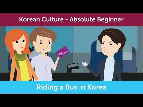 How to Ride A Bus in Korea | Innovative Korean