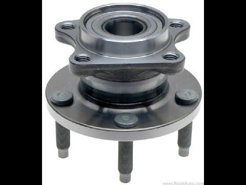 Ford Edge AWD Rear Hubs Bearings - Loud road noise