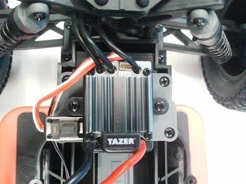 How to program a Dynamite Tazer brushless ESC.