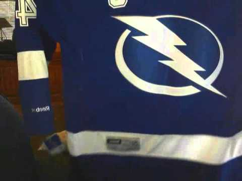 Tampa Bay Lightning jersey unboxing