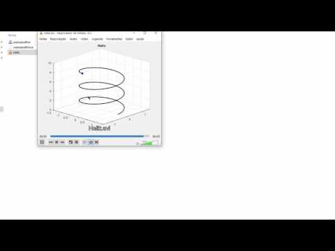Matlab Tutorial - Animated Plot - Creating a video file in Matlab