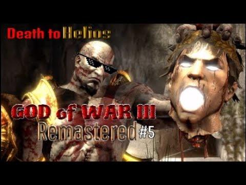 GOD of WAR III Remastered #5 Death of Helios