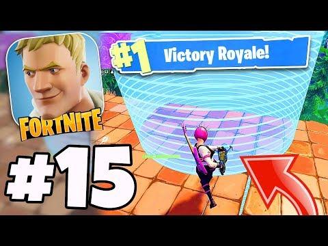 Victory Royale OUTSIDE THE STORM! - Fortnite Battle Royale #15 -