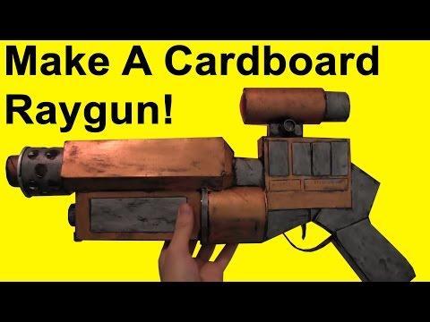 How to Make a Cardboard Space Gun (DIY)