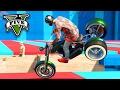 GTA V Online: PARKOUR vs MOTOS - OS MOTOQUEIROS SUICIDAS!