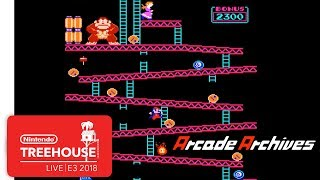 Arcade Archives Gameplay - Nintendo Treehouse: Live | E3 2018