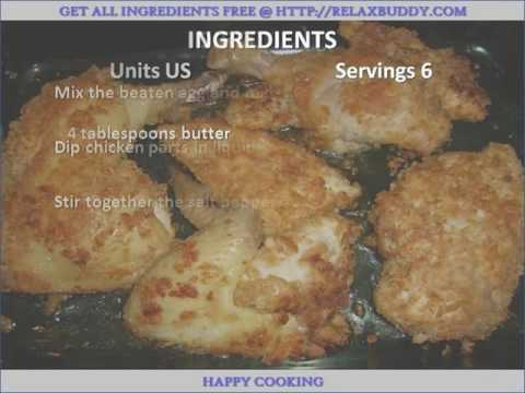Amish Baked Fried Chicken recipe