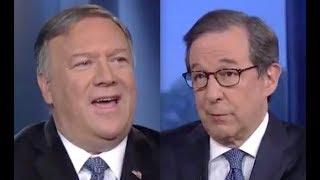 Download Pompeo LOSES IT on Fox host when pressed on Trump's collusion invite Video