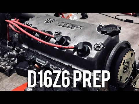 D16Z6 Timing belt and water pump | Project Civic EG