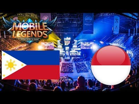 Mobile Legends + NACC + Philippines Vs Singapore + Skin Giveaway Balbon