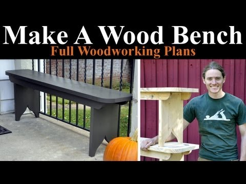 Building Simple Wooden Benches