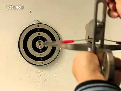 Shoot toothpick exceed small various ge even crossbow handicraft.flv