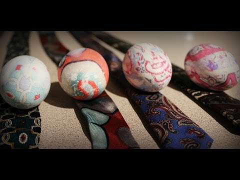 How to Dye Easter Eggs with Ties
