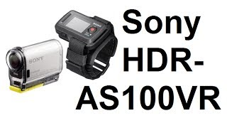 HDR-AS100VR Action Cam Unboxing from Sony