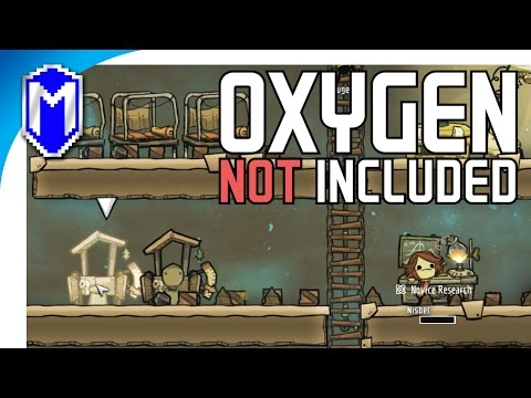 Forgot The Outhouse And Doing Research At The Research Station - Oxygen Not Included Gameplay Part 1