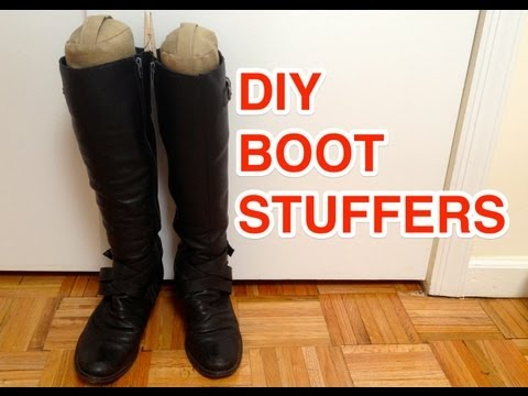 ✂ DIY Boot Stuffers/Shapers - Natalie's Creations