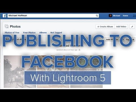 How to post to Facebook from Lightroom