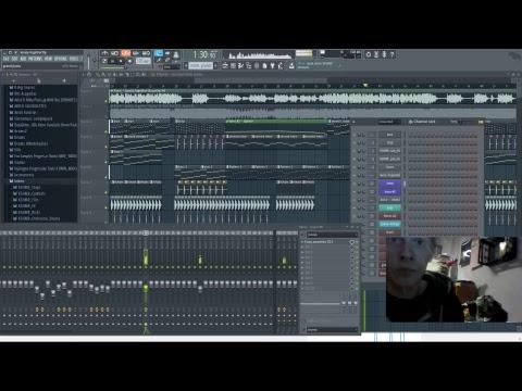 Fl Studio Making Avicii Lonely Together Remake [LIVE]