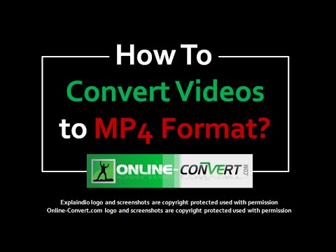 How to Convert Videos to MP4 Format