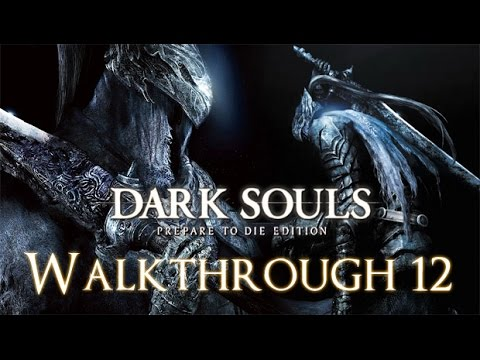 Dark Souls PC 100% Walkthrough 12 New Game+++ ( Sen's Fortress ) Boss Battle: Iron Golem
