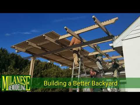 How to build a Patio, Deck & Pergola - Outdoor Living Expert