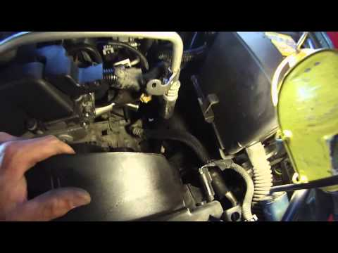 How to replace a thermostat 4.2 envoy or trailblazer