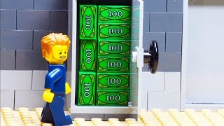 Lego Bank Money Transfer Robbery
