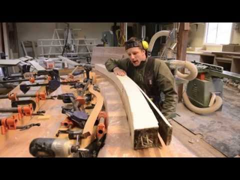 Woodworking, DIY Curved Beams? Learn how
