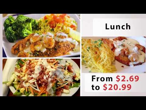 Ruby Tuesday menu prices