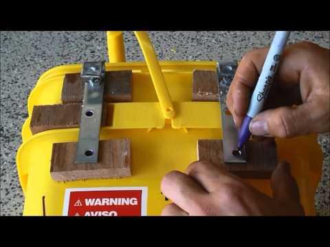 How to Make Kitty Litter Bucket Panniers - One Heart Fire