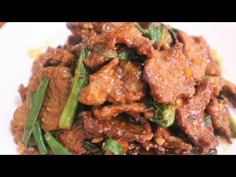 Better Than Take Out - Easy Mongolian Beef Recipe