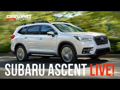 2019 Subaru Ascent First Look Live