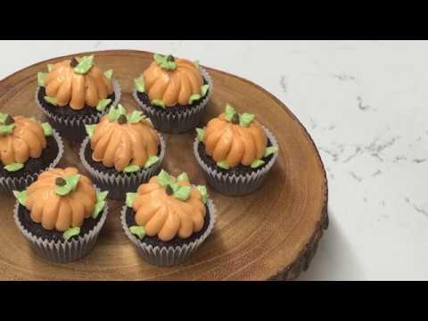 Halloween Cupcake Buttercream Pumpkin Frosting