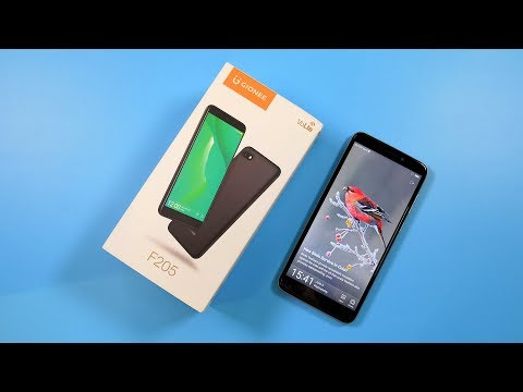 GIONEE F205 Unboxing & Hands On Video