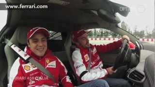 Fernando Alonso Hot Lap In Ferrari 458 Italia [hd] (option Auto News)