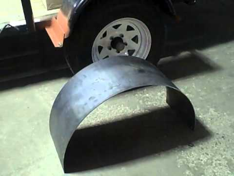 THICK STEEL TRAILER FENDERS FOR SALE