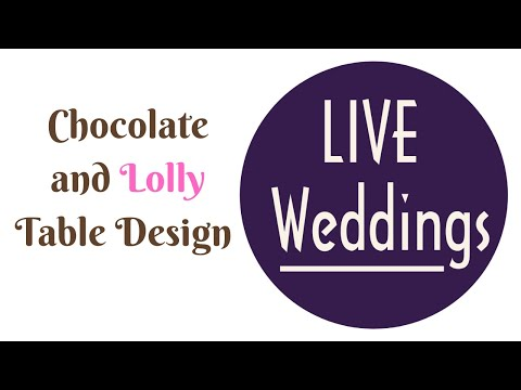 Wedding Reception Ideas - BEST Chocolate Lolly Table Design