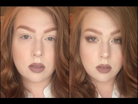 Smokey Eyeshadow Technique For Downturned Eyes And Hooded Lids