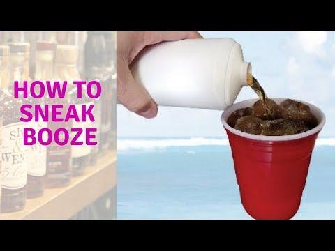 Ways to Sneak Alcohol