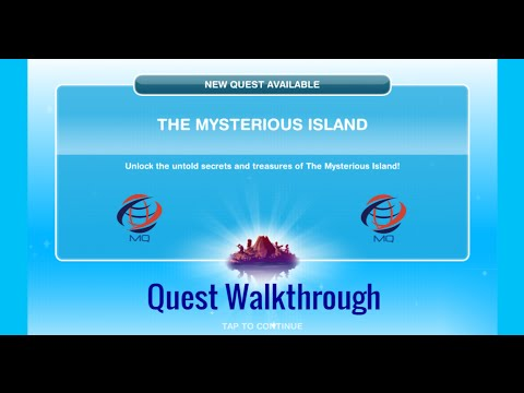 The Sims FreePlay - The Mysterious Island Quest Walkthrough