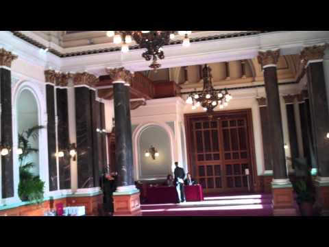 The Banquetting Suite at the Council House in Birmingham