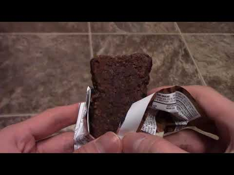 Review CLIF bar Nut Butter Filled Chocolate Peanut Taste test