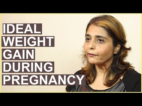 Healthy & Normal WEIGHT GAIN DURING PREGNANCY