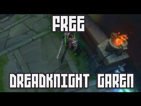 FREE Dreadknight Garen Skin - League of Legends
