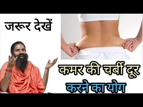 Yoga for remove back fat baba ramdev