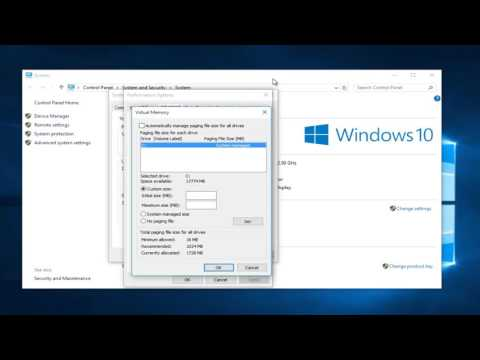 How To Use Virtual RAM In Windows 10
